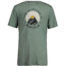 Maloja MailM. Koszulka sportowa z krótkim rękawem Mężczyźni, cypress